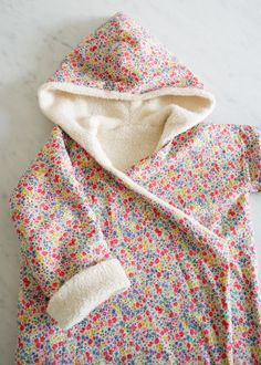Corinne's Thread: Purl Soho Kid's Robe