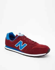 new balance 373 red and blue