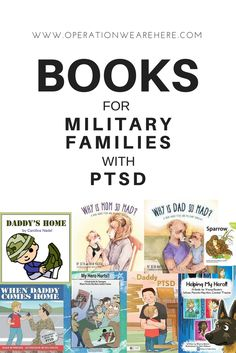 A list of books for children & teens for military families with PTSD