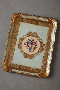 Wedding Table Decorations – Vintage Wedding Table Décor | BHLDN $108 divine platter tray French gorgeousness