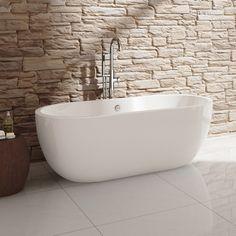 Modern Gloss White Bathroom Designer Freestanding Bath Tub BR367   eBay