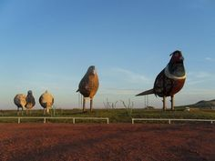 The Enchanted Highway: A place to see large sculptures in North Dakota