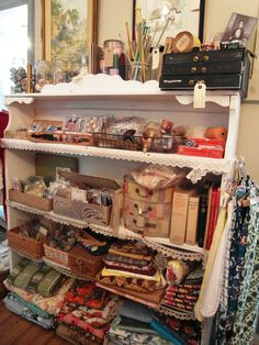 """shop display (at """"Nostalgia at the stone house"""")"""