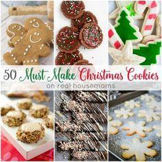 50 Must Make Christmas Cookies
