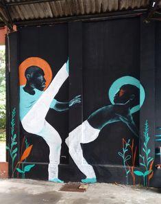 Pintura em spray - artista brasileiro: VCalvento