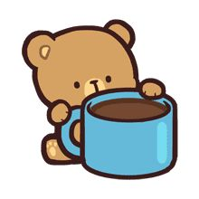 Mocha daily life emoji set is now here! Perfect for cool and calm one, just like Mocha! Cute Couple Cartoon, Cute Cartoon Pictures, Cute Love Pictures, Cute Love Gif, Cute Love Cartoons, Cute Kawaii Animals, Kawaii Cute, Mocha, Bear Gif