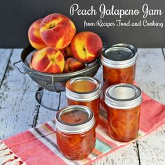 Peach Jalapeno Jam - Recipes Food and Cooking