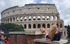Roma, Colloseo, Colleseum, Rome, Italy, Honeymoon, Italia