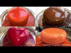 Mirror Glaze Recipe / How to Make a Mirror Cake Recipe Cake Decorating Techniques, Cake Decorating Tips, Mirror Glaze Recipe, Chocolates, Honey Cake, Cocktails, Cake Icing, Mini Cakes, Royal Icing