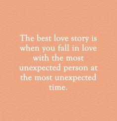 Falling in Love, Love Story