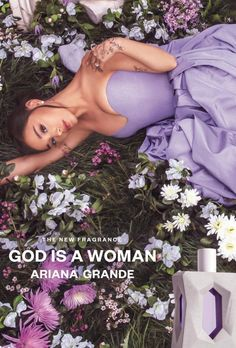 Beauty Fragrance News: Ariana Grande GOD IS A WOMAN Fragrance Release Date Ariana Grande just recently announced her newest fragrance: GOD IS A WOMAN. The newest perfume from Ariana Grande's range of fragrances will come in a soft purple bottle, inspired by one of her most popular songs: 'God is a woman'. Ariana Grande GOD IS A WOMAN Fragrance Release Date: July 29, 2021 (online) August 1, 2021 (in-stores). The new Ariana Grande GOD IS A WOMAN Fragrance.. Ariana Perfume, Ariana Grande Perfume, Cabello Ariana Grande, Ariana Instagram, Nailart, Ariana Grande Wallpaper, Ariana Grande Pictures, Yours Truly, Dangerous Woman