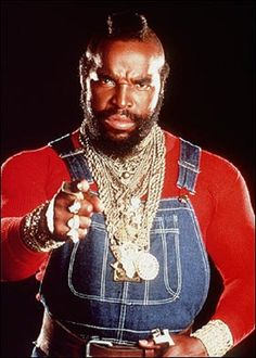 My latest style inspiration. Famous Celebrities, Celebs, I Pity The Fool, Hard Men, Those Were The Days, The A Team, Classic Tv, Famous Faces, In Hollywood