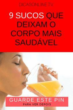 Sucos saudaveis