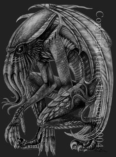 Cthulhu by Aerin-Kayne on DeviantArt