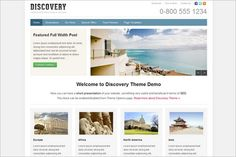 Discovery is a new great looking WordPress Theme by WPZOOM