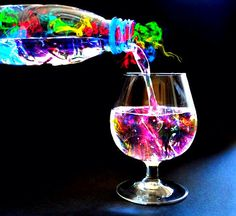Fancy - Colorful Drink