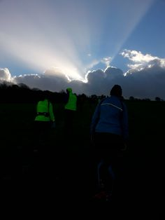 The sun eventually came out for the Longman 10K 2014