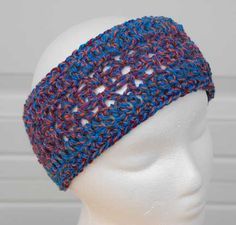 Infinity Headband crocheted by Jeanne Steinhilber
