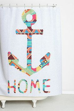 You Make Me Home Shower Curtain