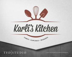 Professionally designed bakery / catering logo by TFDstudio Bakery Logo Design, Food Logo Design, Web Design, Logo Food, Graphic Design, Shape Design, Logo Restaurant, Logo Branding, Branding Design