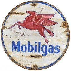 Mobil - Vintage Gas Station Sign