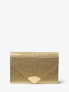 Barbara Metallic Envelope Clutch  ca1530dc5ee