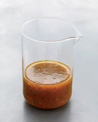 Bobby Flay's Smoky Orange Vinaigrette- Quick Dressing for Grain Salads:    Bobby Flay sweetens this dressing with pantry-handy marmalade. It's fantastic over grain salads but can also be used as a marinade for lean steak or pork