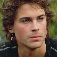 """Rob Lowe in """"St. Elmo's Fire"""" - he is so hot in this movie"""