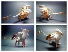 origami gryphon...why is there no bigger picture?!