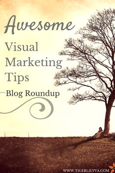 With the enormous amount of blogs on visual marketing, there's so much to share in such little time. A roundup post was needed and fast! Here are some top blogs via @tigerlily1111