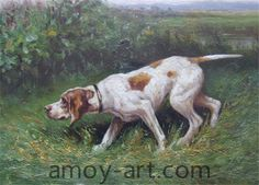AA04DG001 (3)-Dog-China Oil Painting Wholesale | Portrait Oil Painting| Museum Quality Oil Painting Reproductions