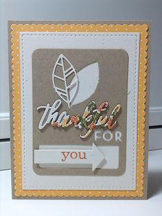 PTI Make It Monday #186: Partial Die Stamping | Flickr - Photo Sharing!