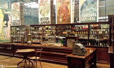La Triennale di Milano - Arts and Foods - Un bar storico ricostruito