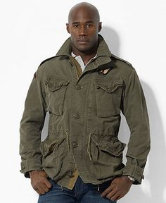 Mens Military Jacket, Fennel Seed, $60 | M65 and Field Jackets ...