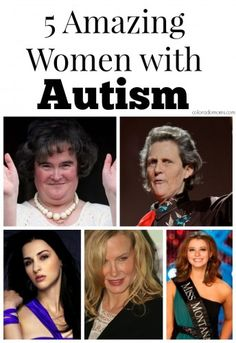 Autism may now affect 1 in but that number is drastically lower when comparing autistic boys and girls. Often studies and articles … 5 Remarkable Women with Autism Aspergers Autism, Adhd And Autism, Children With Autism, Aspergers Women, Famous People With Autism, Autism News, Autistic Children, Temple Grandin, Autism Spectrum Disorder