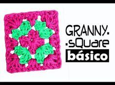 Cómo unir cuadrados (Granny Squares) paso a paso - YouTube