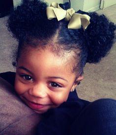 Natural Hair, Natural Beauty - kneehighsandlove: Koi is such a beautiful little girl