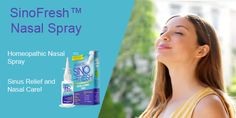SinoFresh® may help cleanse away are yeasts, molds, bacteria, dust, pollen, and smoke.  SinoFresh® Homeopathic Nasal Spray.  #sinusinfectionnasalspray #salinenasalspray #allergytreatment #nasaldrops #nasalrelief Sinus Spray, Saline Nasal Spray, Sinus Problems, Health Problems, Blocked Nose, Throat Spray, Sinus Relief, Sinus Infection