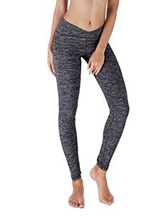 Yoga Reflex - Yoga Pants for Women - Fitness Yoga Pant Leggings - Back Pocket (From XS to 2XL) , Navy , Small -- Read more reviews of the product by visiting the link on the image.
