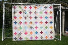 My low volume charm plus quilt is finished! | Flickr - Photo Sharing!
