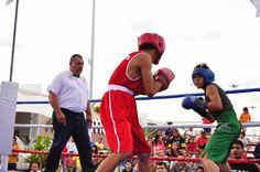 Función de box en la Feria de San Francisco de los Romos en Aguascalientes ~ Ags Sports