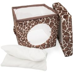 Kitty Zen Den- Cat House / Condo - cat Bed -- Trust me, this is great! Click the image. (This is an amazon affiliate link. I may earn commission from it)