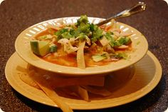 Authentic Mexican Tortilla Soup                                                                                                                                                                                 More