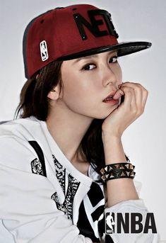 Song Ji Hyo for NBA