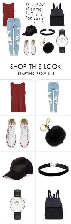 """""""Casual"""" by amshetty on Polyvore featuring White House Black Market, Topshop, Converse, MICHAEL Michael Kors, River Island, Miss Selfridge and Daniel Wellington"""