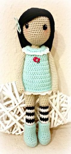 gorjuss crochet doll - Google Search