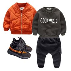 Fall/Winter #mashup  #ootd: Good Music Jumper, Utility Joggers, Basix Spice Flight, v2 Boost || v2 #boost now come in infant sizes 4-8C (21-25 euro) 25% off ends tonight • • • • #click the blue link in bio to shop ________________________________________________ #yeezy #instakids #fashionkids #ny #yeezy #la #minilicious #kidsfashion #kidzfashion #streetwear #kidzfashion #northwest #streetstyle