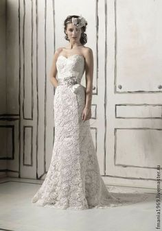 """Свадебное платье """"Нимфа"""". Handmade."""