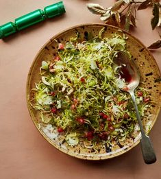 Yotam Ottolenghi's alternative Christmas dinner – recipes   Food   The Guardian Yotam Ottolenghi, Ottolenghi Recipes, Slaw Recipes, Veggie Recipes, Vegetarian Recipes, Dinner Recipes, Veggie Food, Brussel Sprout Slaw, Shaved Brussel Sprouts
