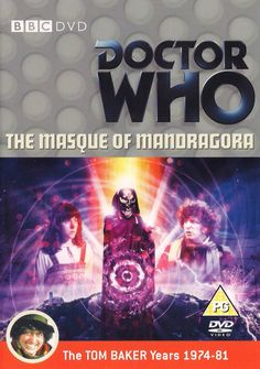 75). The Masque of Mandragora. Starring Tom Baker as the Doctor and Elisabeth Sladen as Sarah Jane